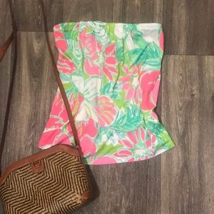 NWOT Lilly Pulitzer Tube Top